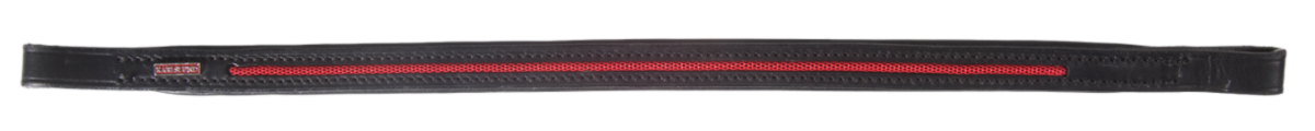 Browband with pattern stripe