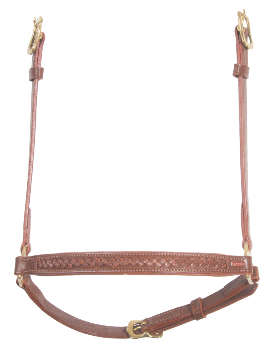 Hannoveran noseband with braiding
