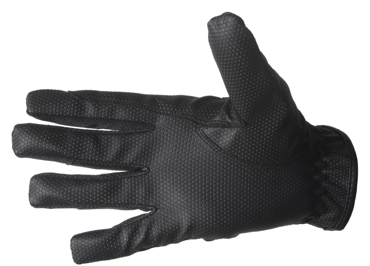 Soft touch riding gloves