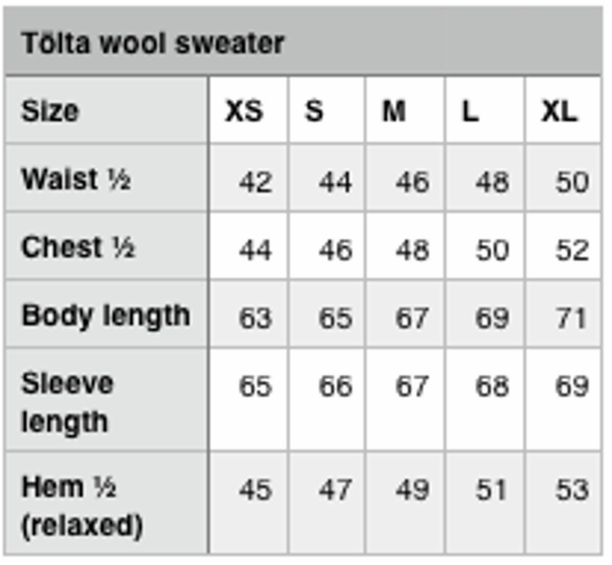 Tölta uldsweater