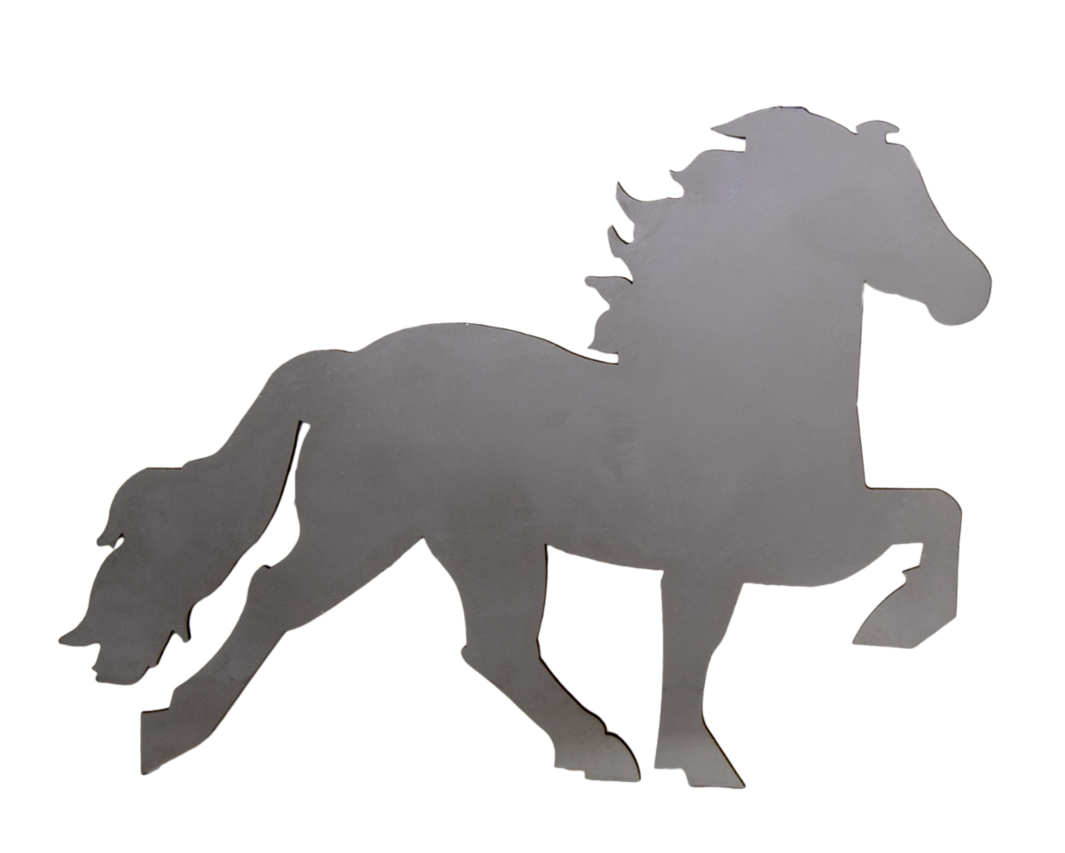 Icelandic horse badge
