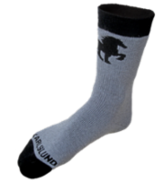 Wool socks w. horse