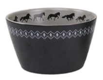 Bowl with Icelandic Horses