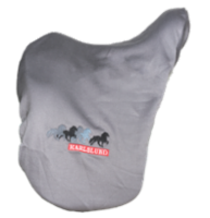 Saddle cover, smooth fleece